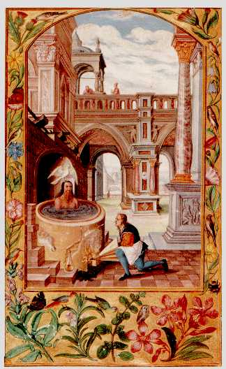 Boiling The Body In The Vessel From Splendor Solis, Hermetic Emblems From Manuscripts 1