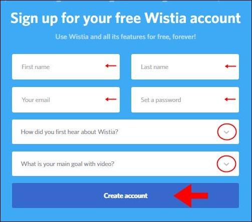 Abrir mi cuenta Wistia - 643
