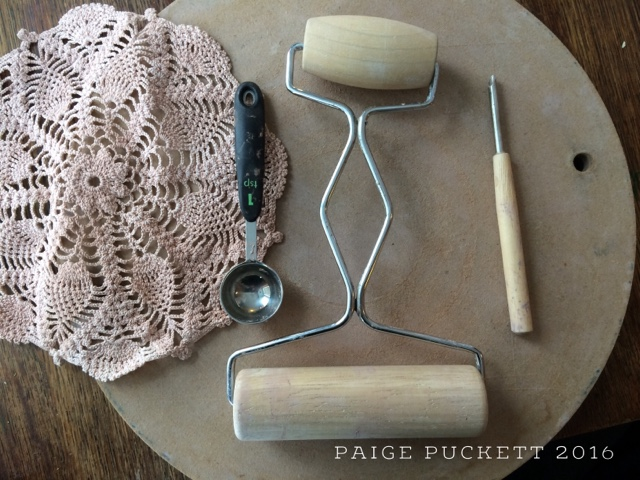 paige puckett pottery spoons