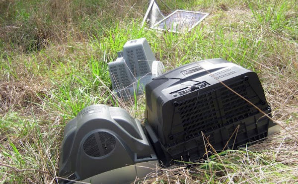 dumped tvs