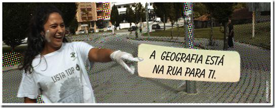 A Geo na rua