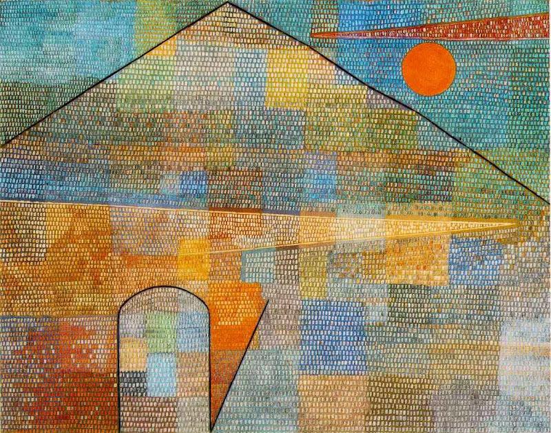 Paul Klee - Ad Parnassum, 1932