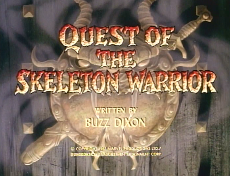 Quest of the Skeleton Warrior title card