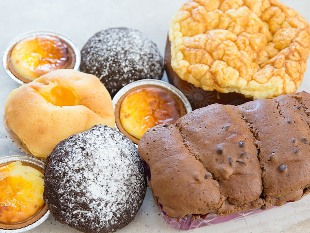 photo of Hokkaido Cheese Tarts, Mangotale, Chocolate Cookie Bread, Chocolate Brioche, and a Giant Brioche
