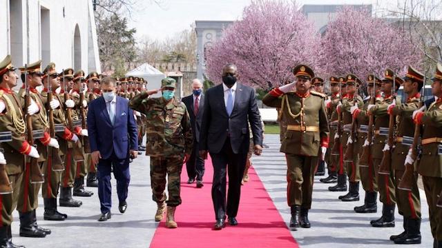 Afghanistan: US Defence Secretary Lloyd Austin on unannounced Kabul visit