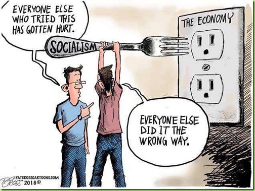 socialism no right way