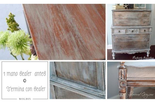 Otros usos para el sealer o barniz de autentico chalk - Como envejecer un mueble barnizado ...