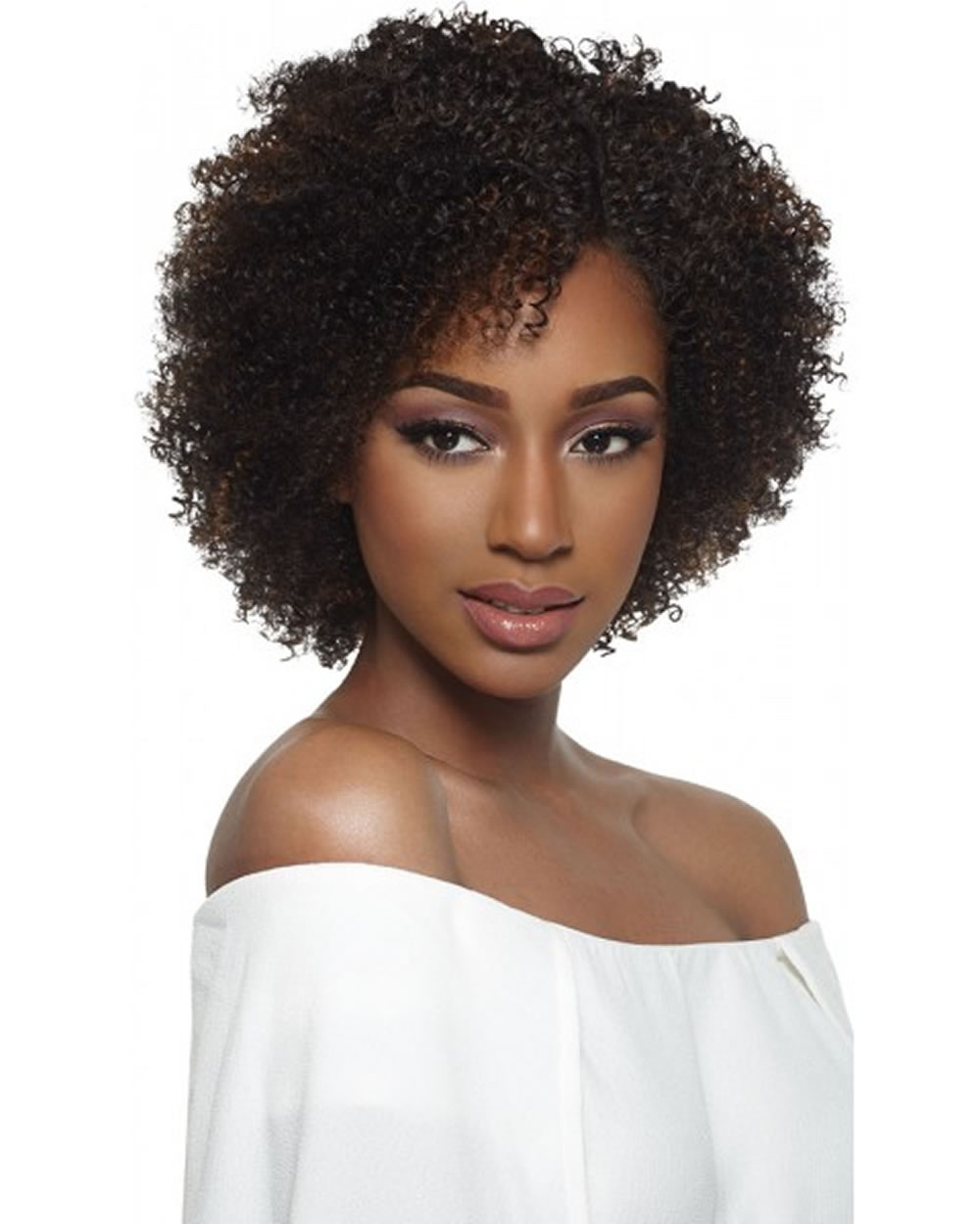 Short Natural Hairstyles 2019 -African American Girl