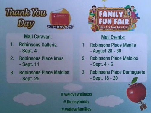 announcement, Robinsons Supermarket, shopping, simple pleasures