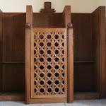 Eglise Notre-Dame-des-Missions : confessionnal