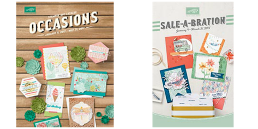 2017 Occasions and Sale-a-bration Catalogs