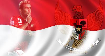 foto garuda pancasila dan bendera indonesia