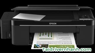 Tải và cấu hình phần mềm máy in Epson L200