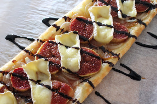 Not 2 late to craft: Coca de figues i camembert / Fig and camembert tart