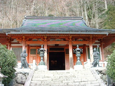 ryusenji temple omine japan