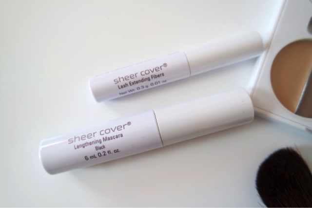 Sheer Cover Introductory Kit, an Airbrushed Makeup Look