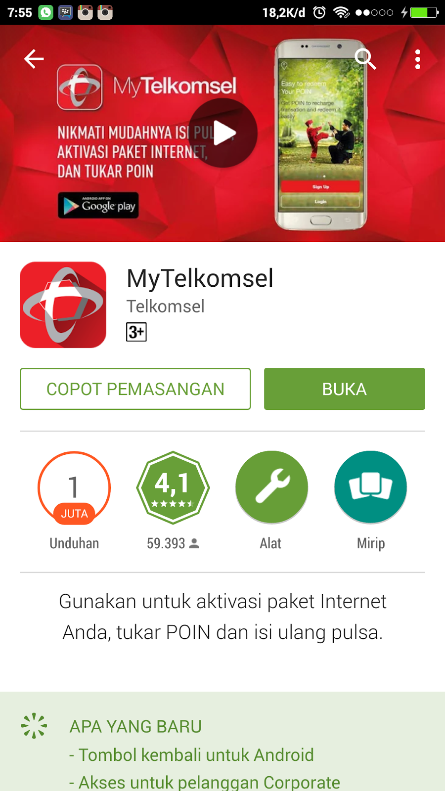 Info gratis terbaru..! Instal aplikasi my telkomsel dapst pulsa 50 ...