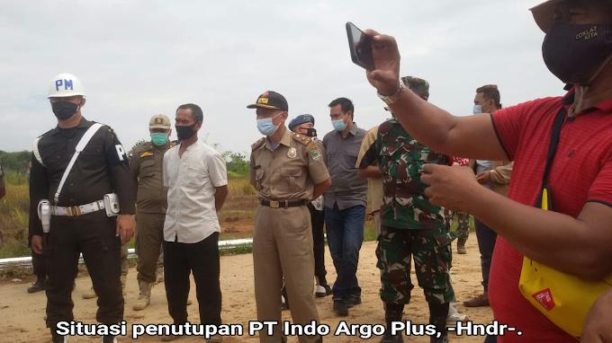Dikasih Peringatan dan Masih Bandel Akhirnya Pembangunan PT Indo Argo Plus Ditutup