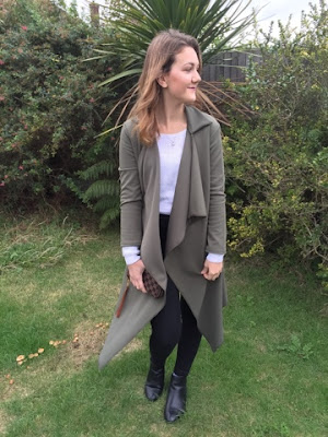 Boutique of Molly Keri Waterfall cardigan ootd