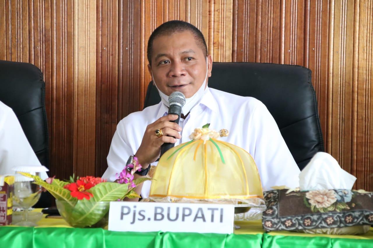 Pjs Bupati Soppeng Lakukan Kunjungan Kerja di Kecamatan Marioriawa