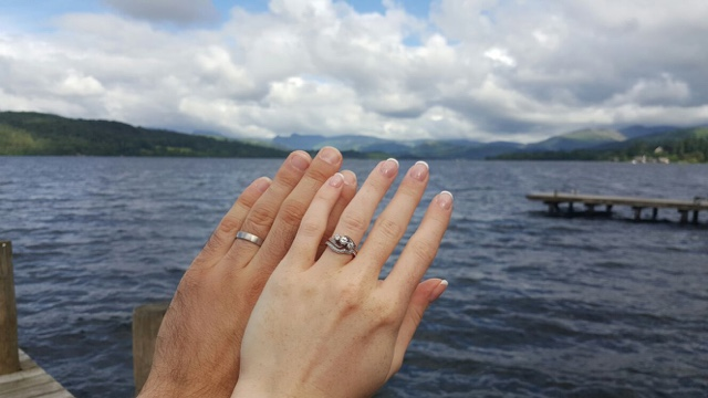 His & Her. Mr & Mrs. I Give This Ring...