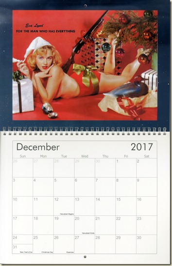 12 Dec - Eva Lynd calendar cover