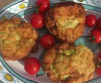 Boules croustillantes de courgettes et pommes de terre - recette indexée dans les Légumes