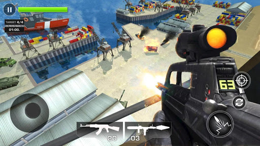 FPS Air Critical Strike : war attack apkpoly screenshots 2