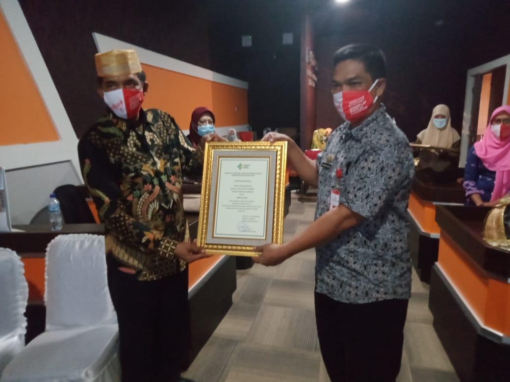 Hari Kesehatan Ke 56, Kabupaten Soppeng Salah Satu Penerima Penghargaan STBM 2020