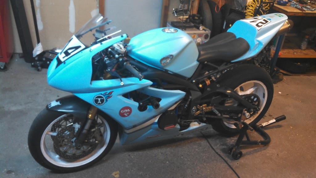 Ebc Sport Rotors >> 2006 Triumph Daytona 675 Race Bike - MNSBR