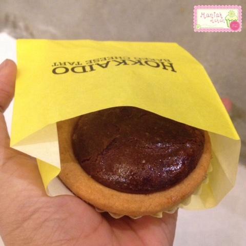 maniak-makan-hokkaido-baked-cheese-tart-dark-chocolate-cheese-sensation