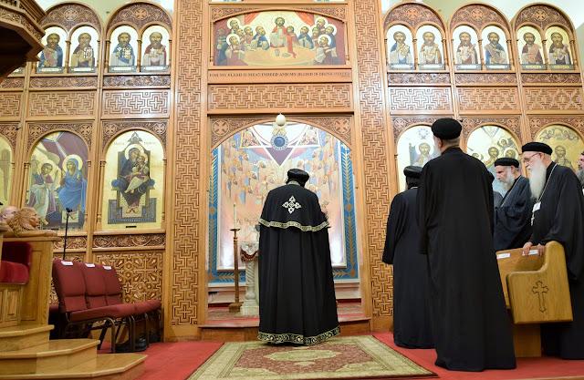 His Holiness Pope Tawadros II visit to St. Mark LA - DSC_0177.JPG