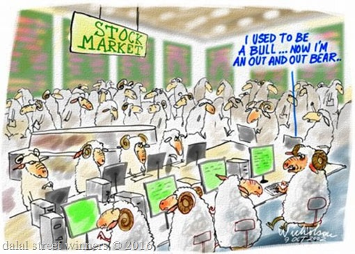 Stock markets turned lower