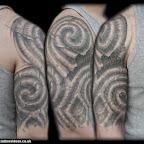 celtic bio organic half sleeve