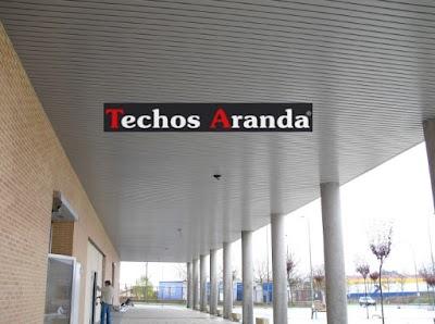 Negocios locales venta techos de aluminio Madrid