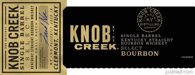 Knob Creek Single Barrel Select Bourbon