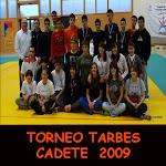 TORNEO TARBES CADETE 2009