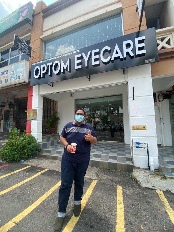 Pemeriksaan Mata Di Optom Eyecare Bangi