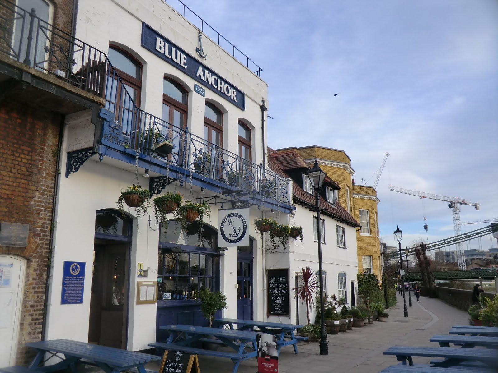 CIMG2192 Blue Anchor, Hammersmith