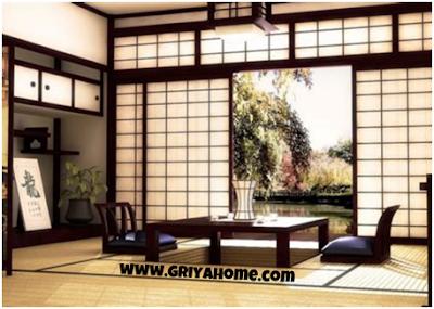 Pintu Geser Gaya Jepang / Shoji