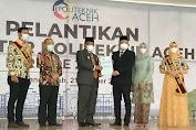 Walikota Banda Aceh Lantik Direktur Politeknik Aceh yang Baru. Ini Pesannya
