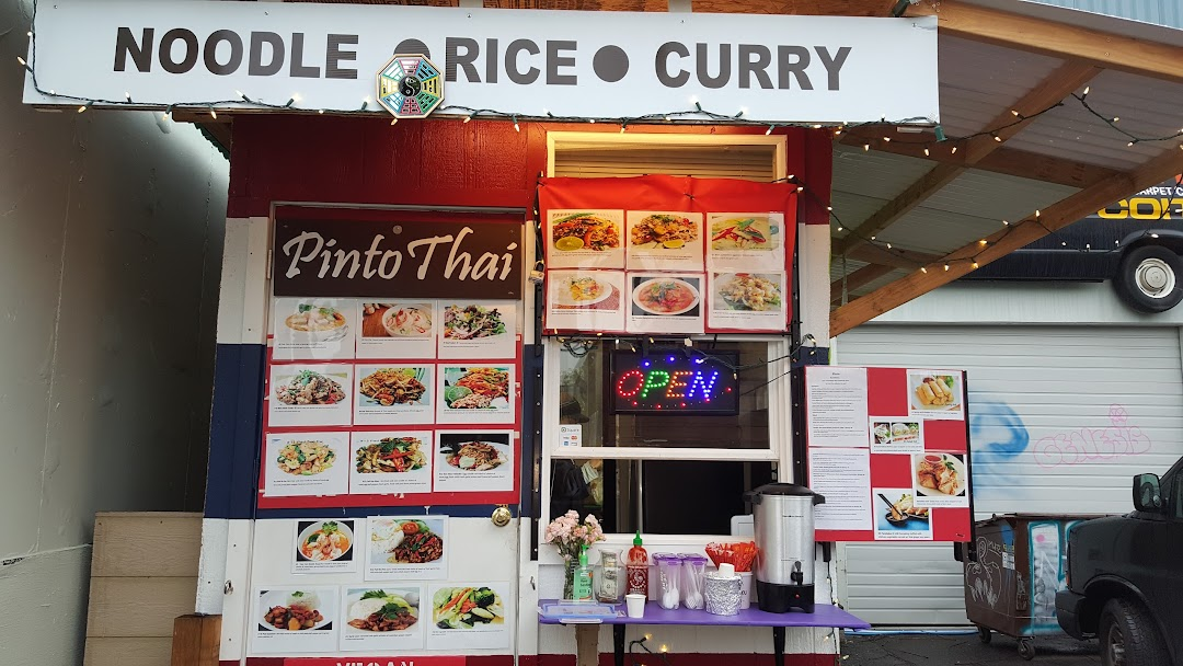 Pinto Thai Kitchen Thai Food Cart Se Hawthorne In Portland