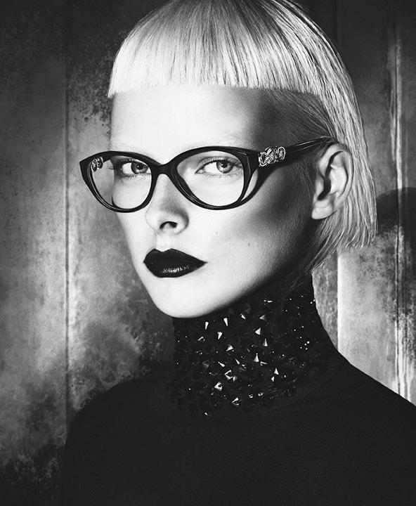 4094c4f4a574 Versace eyeglasses 2013 winter campaign. Versace eyewear advertising ...