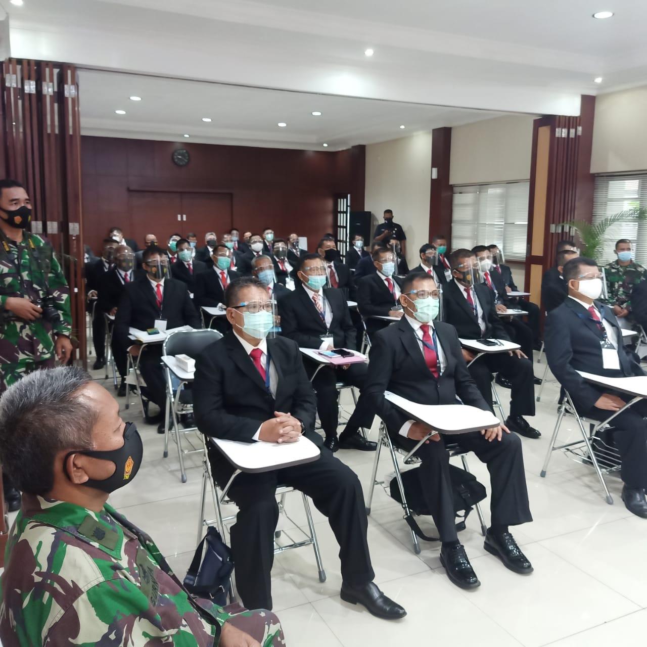 Dibuka Pelatihan Gada Utama PT. Nawakara Perkasa Nusantara dan BalurJarbar TNI AL