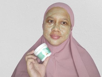 Masker Mugwort Kefir Etawa