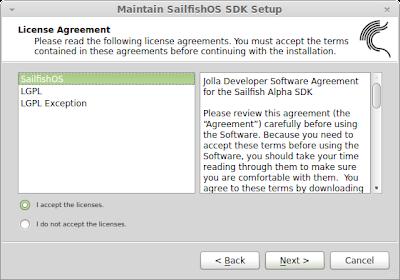 Maintain SailfishOS SDK Setup_002