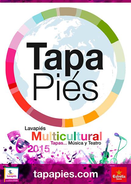 Tapapiés 2015. 5.ª Ruta Multicultural de la Tapa y la Música en Lavapiés