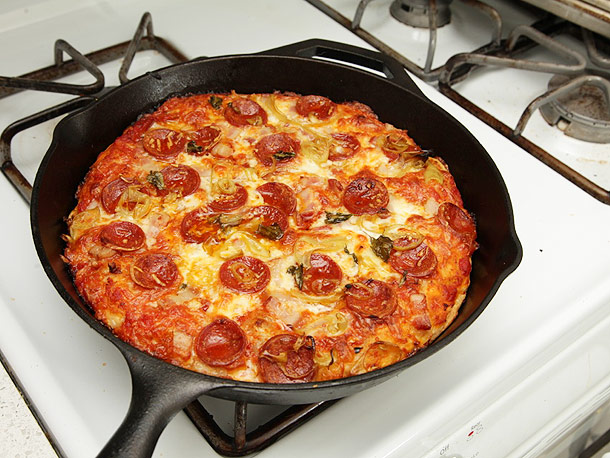 Bánh Pizza chảo vừa ngon miệng lại vô cùng dễ làm
