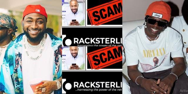 """""""Arrest Davido, Rema, Other Celebrities For Promoting RackSterli"""" – Scammed Investors (VIDEO)"""