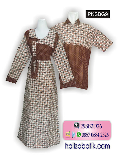 grosir batik pekalongan, Sarimbit Muslim, Model Batik Terbaru, Model Gamis Sarimbit